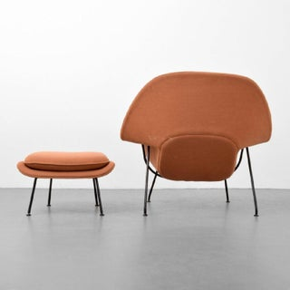 Eero Saarinen Womb Lounge Chair and Ottoman, Usa, 1960s Preview