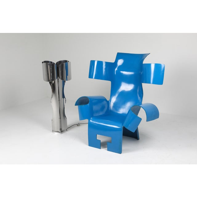 Functional Art Chair in the Style of Gaetano Pesce - 1980s For Sale - Image 4 of 11
