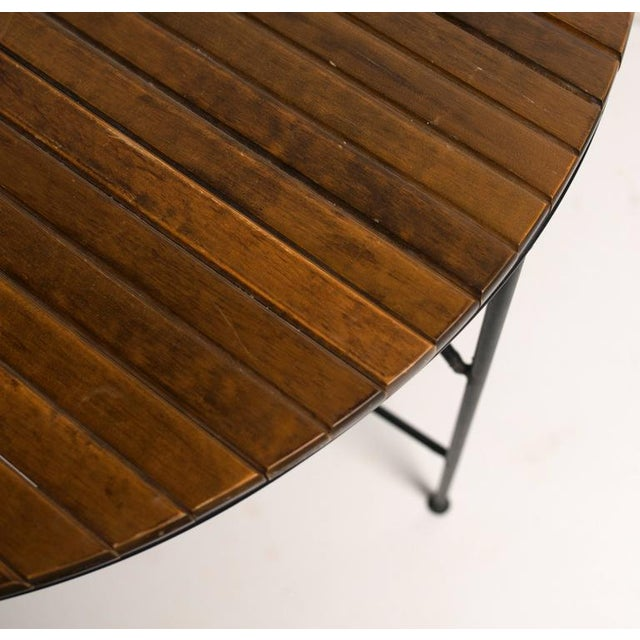 Mid-Century Modern 1950s Mid-Century Modern Arthur Umanoff Dining Table and Chairs Set - Set of 5 For Sale - Image 3 of 11