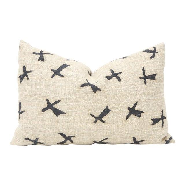 Vintage Hmong Hemp Hand Woven Pillow For Sale