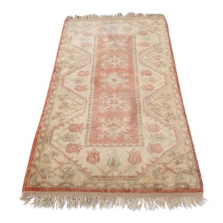 1960s Traditional Anatolian Pastel Rug-2′8″ × 4′10″ For Sale