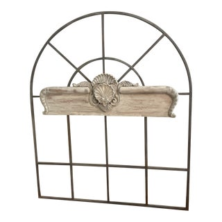 Vintage Iron Trellis For Sale