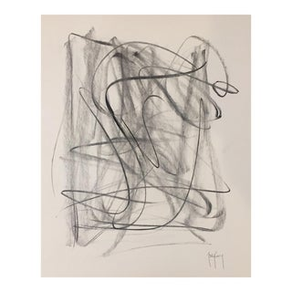 Original Modern Charcoal Drawing by Tony Curry