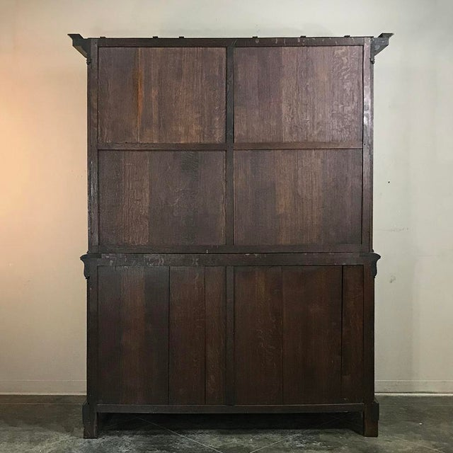 Mid-19th Century Louis Philippe Mahogany Bookcase For Sale - Image 10 of 11