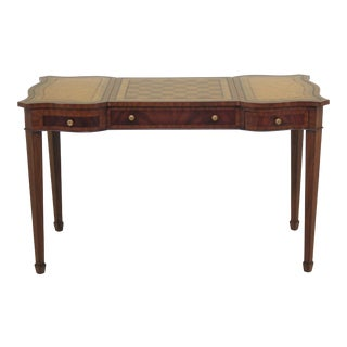 Regency Maitland Smith Reversible Leather Top Games Table For Sale