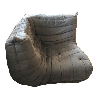 Togo Corner Ligne Roset Brown For Sale