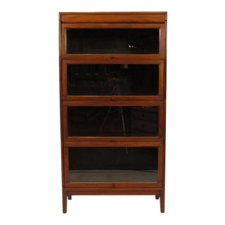 Early 20th Century Walnut Bookcase For Sale