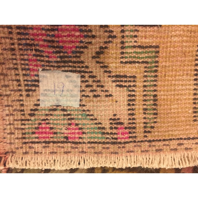 "Turkish Bohemian Rug - 1'5"" x 2'11"" For Sale - Image 5 of 6"