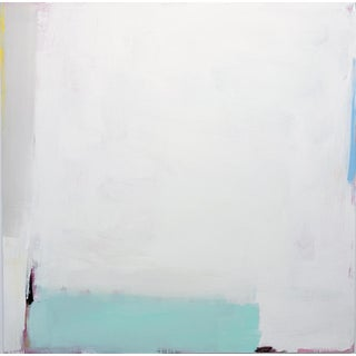 """""""Modern Love"""" Contemporary Minimalist Abstract Acrylic Painting by Sarah Trundle For Sale"""