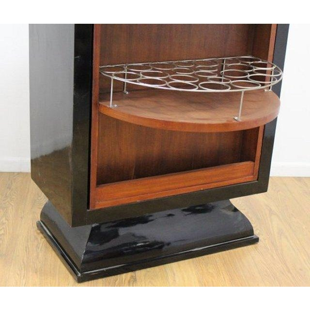 Art Deco Revolving Bar Cabinet - Image 5 of 5