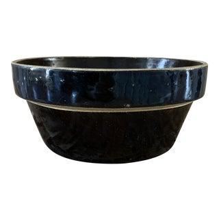 Vintage Ironstone Crock Bowl For Sale