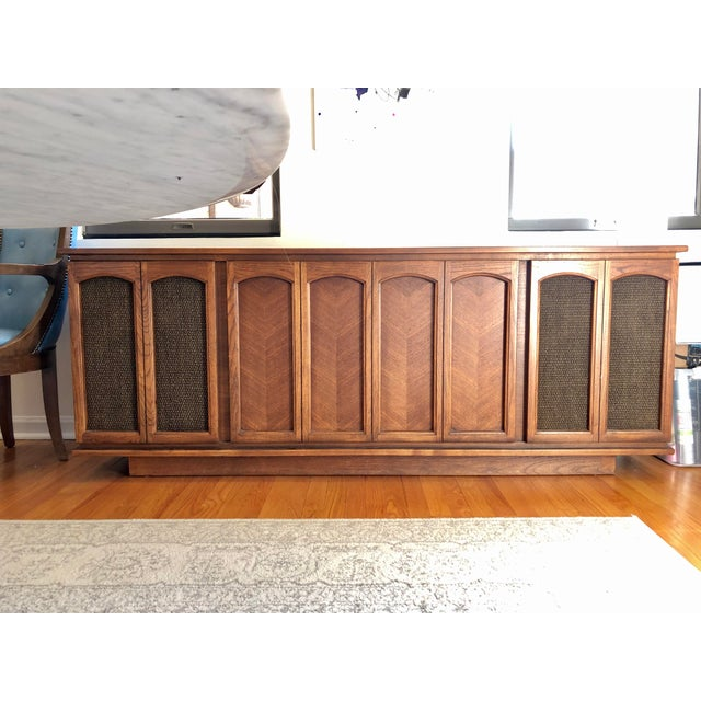 Vintage 1969 RCA Ramsgate Stereo Cabinet For Sale - Image 9 of 9