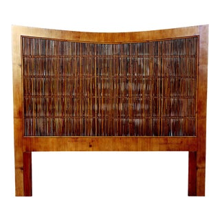 David Francis Twin Bamboo Headboards - A Pair