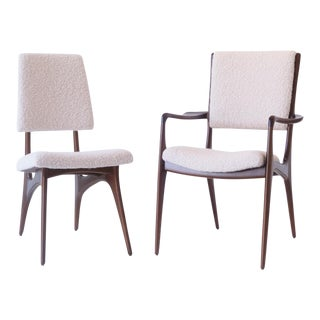 1950s Vladimir Kagan for Dreyfuss Dining Chairs - a Pair For Sale