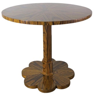 Italian Deco Style Rosewood Table, Circa 1980 For Sale