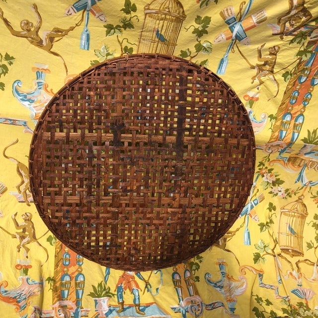 Vintage Bamboo Tobacco/Flower Drying Rack For Sale - Image 4 of 10