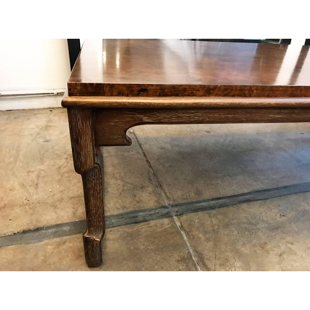 1960s American Tomlinson Walnut Coffee Table For Sale In Los Angeles - Image 6 of 11