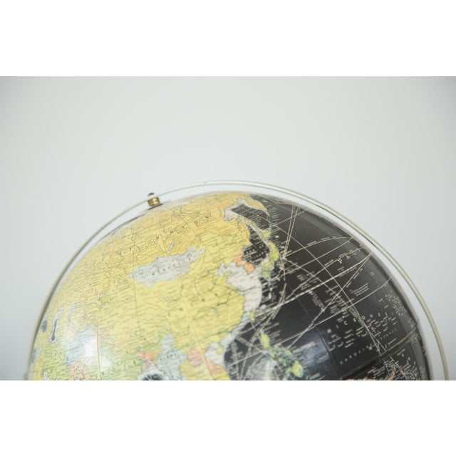 1960s Rand McNally Black Globe - Image 4 of 10