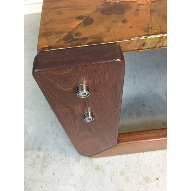Percival Lafer Rosewood Side Table - Image 7 of 8