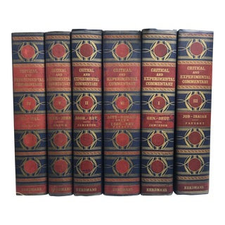 Navy & Maroon Books - Set of 6