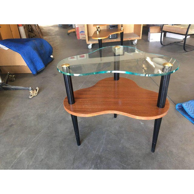 Gilbert Rohde Two-Tier Mid-Century Cloud Coffee Table For Sale In Los Angeles - Image 6 of 10