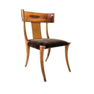 1950s Vintage Stewart MacDougall for Glenn of California Style Klismos Chair For Sale