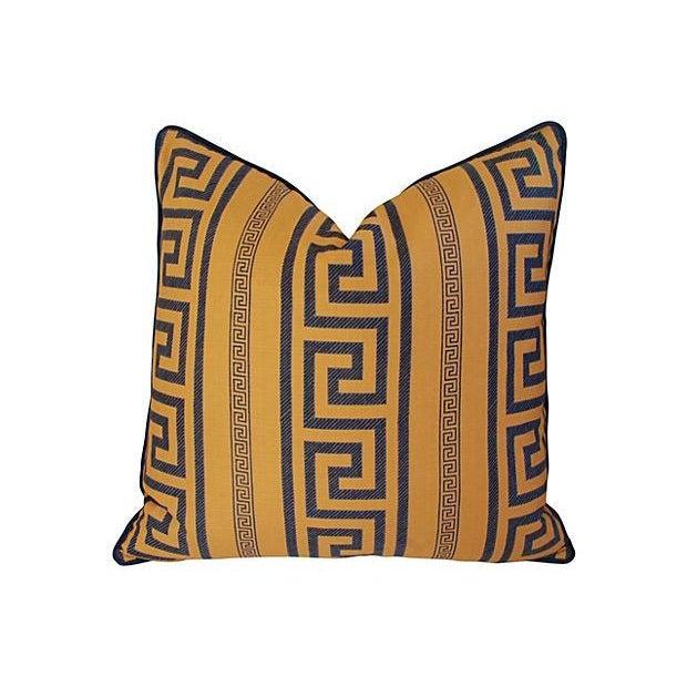 Designer Pierre Frey Greek Key Pillows - A Pair - Image 3 of 8