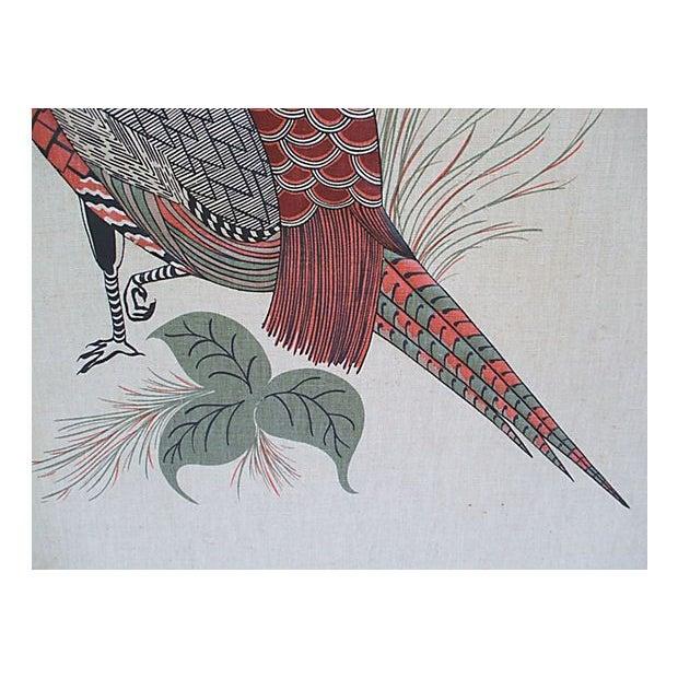 Vintage Pheasant Wall Hanging - Image 3 of 7