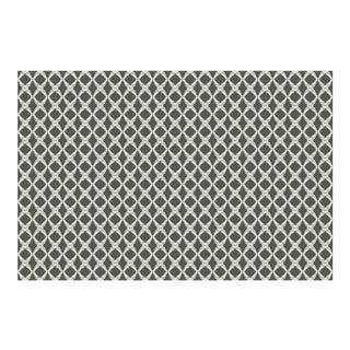Fern Trellis Burnt Olive Linen Cotton Fabric, 6 Yards For Sale