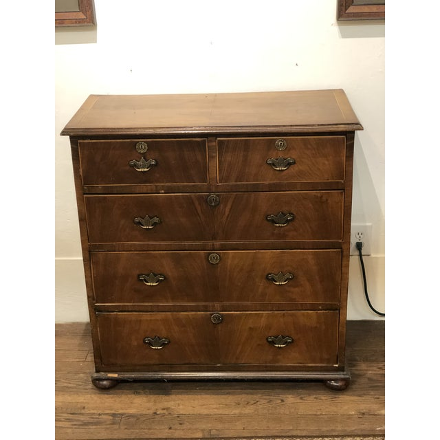 Circa 1800s English Georgian Style Mahogany Chest of Drawers For Sale - Image 13 of 13