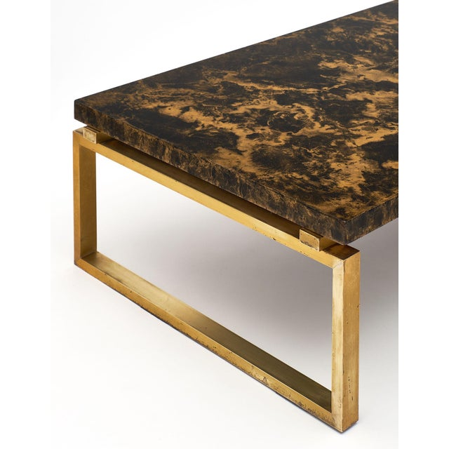 French Mid-Century French Altuglass Coffee Table For Sale - Image 3 of 10