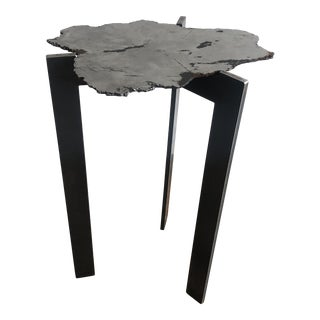 Contemporary Studio Meteorite Side Table For Sale