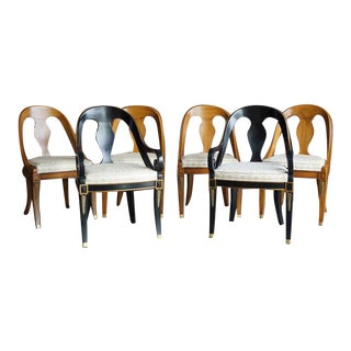 Late 20th Century Karges Neo Classic Dining Chairs - Set of 6 For Sale