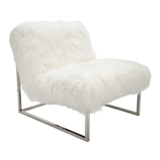 Curly Milly Chair Bright White For Sale