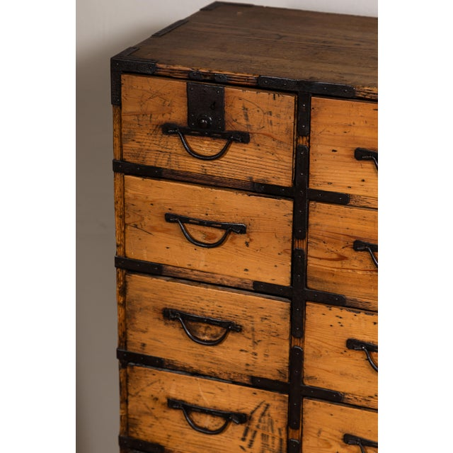 Antique Japanese Tansu For Sale - Image 4 of 10