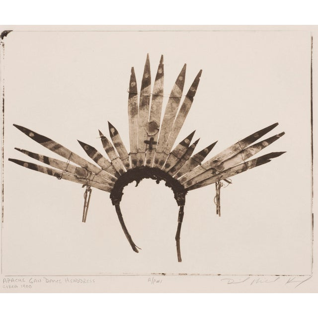 Lodge Apache Gan Dance Headdress For Sale - Image 3 of 3