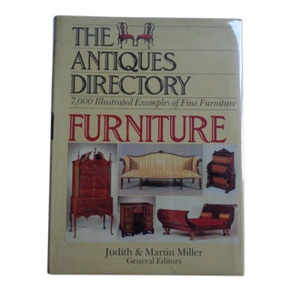 1980s Vintage The Antiques Directory Furniture Book For Sale