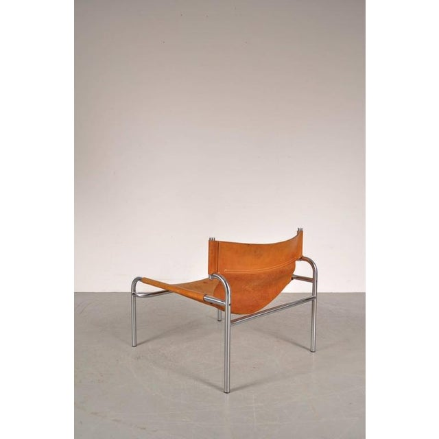 """Lounge Chair """"sz12"""" by Walter Antonis for Spectrum, Netherlands, circa 1970 - Image 9 of 9"""
