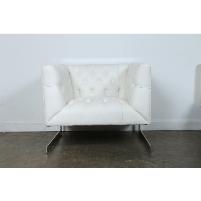 Modern Chesterfield Tufted Chair - Image 2 of 11