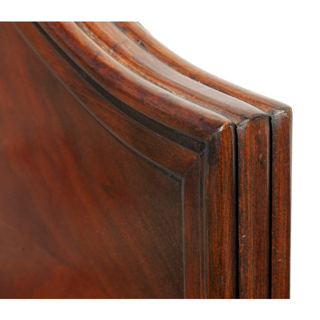 1940s 1940s Renaissance Hand Painted Walnut Headboard For Sale - Image 5 of 8