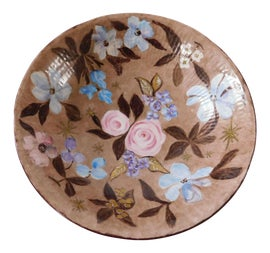 Image of Gold Leaf Serving Dishes and Pieces