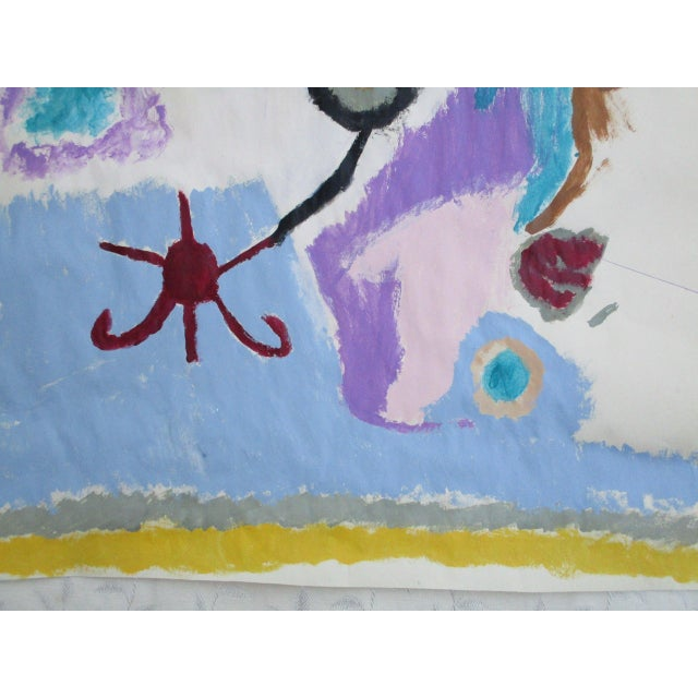 'Hands on the Prize' Abstract Painting - Image 4 of 9