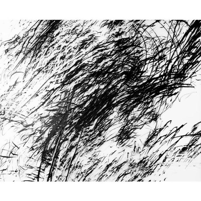 """Abstract Jaanika Peerna """"Tipping Point #5"""", Drawing For Sale - Image 3 of 4"""