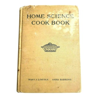 1930s Antique Science Cookbook Home Economics Cookbook For Sale