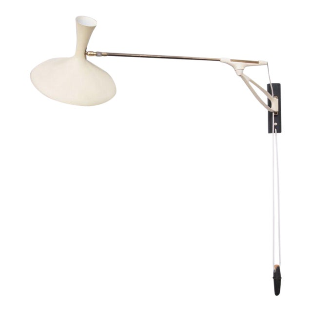 Rare Adjustable Wall Lamp by Cosack Leuchten, Germany, 1950s For Sale