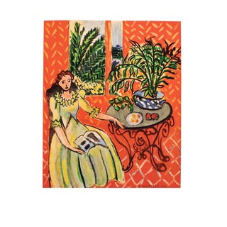 "Rare 1948 Matisse ""Young Girl in Green Dress"" Original Period French Lithograph For Sale"