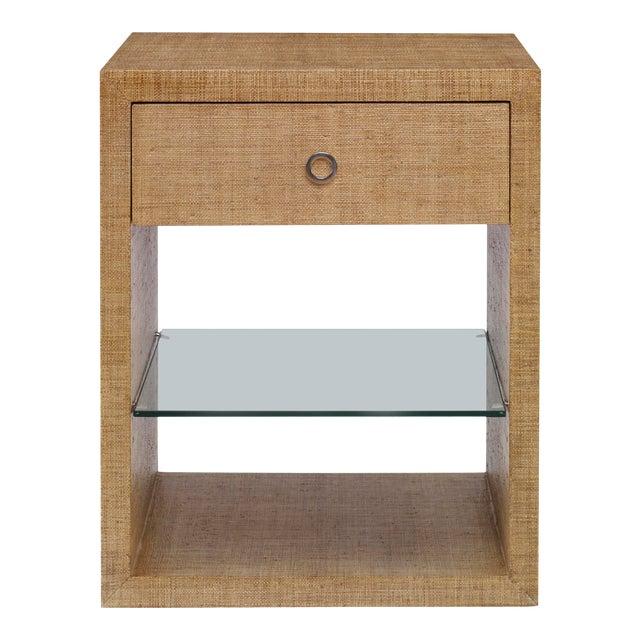 Century Furniture Charleston Small Nightstand, Sand For Sale