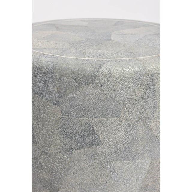 Diminutive Patchwork Shagreen Chest of Drawers by Maitland-Smith For Sale - Image 10 of 11