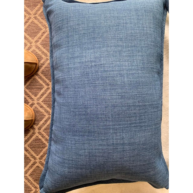 Traditional Christopher Farr Cloth Lumbar Pillows - a Pair For Sale - Image 3 of 5