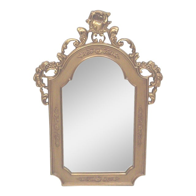 Gilt Baroque Wall Mirror - Image 1 of 5